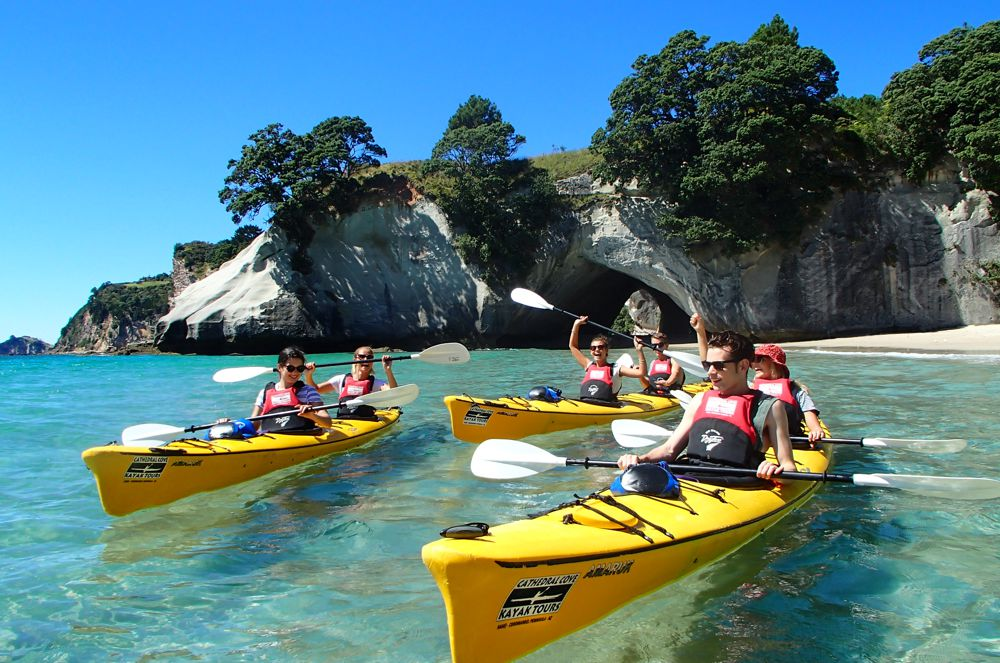 Cathedral Cove Kayak - Hahei Holiday Homes